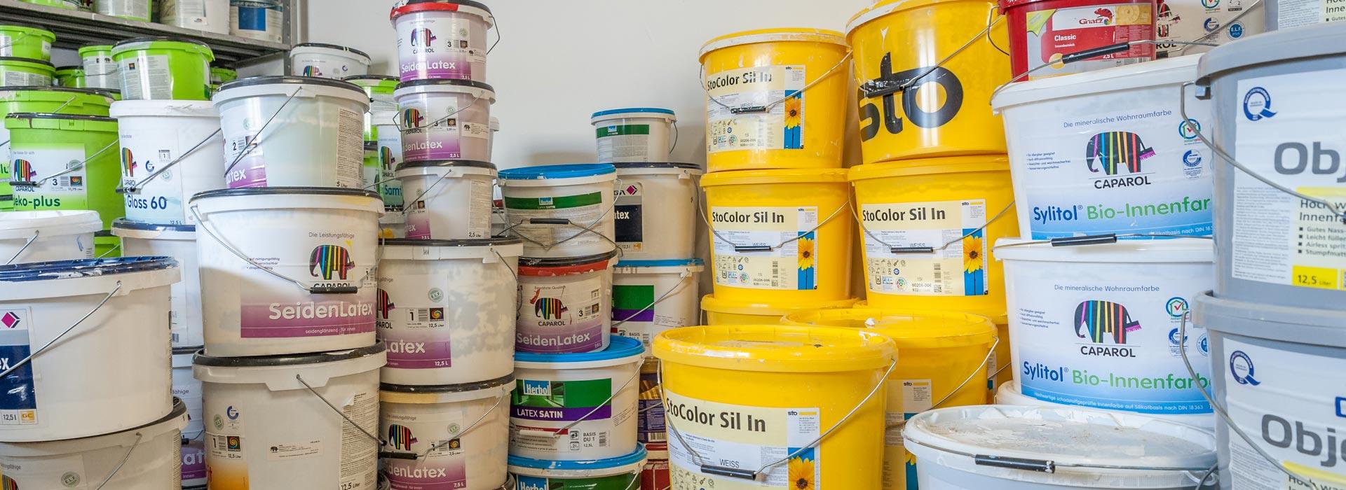 Farbeimer – Malerbetrieb Dumps